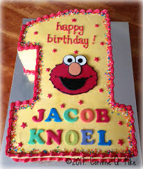 Elmo Themed 1st Birthday Cake Pikecorinne Flickr