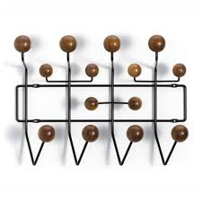 Eames Coat Rack Walnut Reproduction of HangItAll Coat Hanger Walnut GFURN Products 49