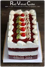 Info Campur Campur Red Velvet Cake For Mba Widhi