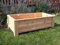 cedar garden box. Cedar Planter Box Brown Garden