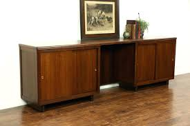 Mid Century Modern Credenza Sold Modern Vintage Executive Credenza Signed  Home Improvement Mid Century Modern Credenza