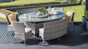 amalfi 8 piece outdoor oval dining