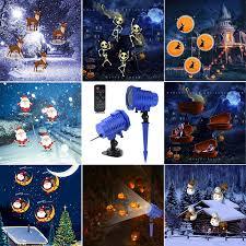 Christmas Animated Laser Light Us 32 98 25 Off Beiaidi 8 Slides Card Christmas Animated Laser Projector Light Outdoor Halloween Wedding Party Decoration Waterproof Garden Lamp On