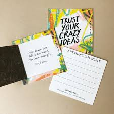 Maybe you would like to learn more about one of these? Thoughtfulls Pop Open Cards Trust Your Crazy Ideas Puccimanuli