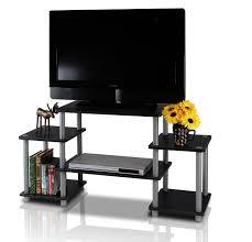 Tv Entertainment Stand Amazoncom Furinno 11257bk Gy Turn N Tube No Tools Entertainment