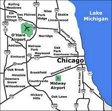 airport terminal maps  chicago cincinnati cleveland dallas