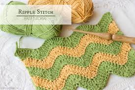 Easy Ripple Afghan Patterns Simple Inspiration Design