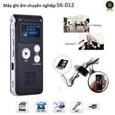 Shop bán Máy ghi âm Stereo chuyên dụng SK-012 - Tích hợp ghi âm cuộc gọi  điện thoại bàn