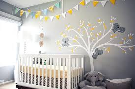 yellow and grey nursery wall art uk decor canada accessories