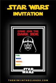 star wars birthday invite template birthday star wars birthday invitations templates free