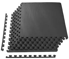 rubber floor mats for gym. Puzzle Floor Mat GYM RUBBER FLOORING Tiles Fitness Exercise 24 SQFT Workout Rubber Mats For Gym