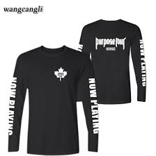 Justin Bieber T Shirt Design Us 8 04 33 Off 2019 Justin Bieber Nomad T Shirt Men Women Spring Autumn Basic Top Tshirt Designs Kpop Long Sleeve Man T Shirt Tops Plus Size In