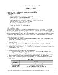 Best Solutions Of Resumes Automotive Technician Resume Format Pdf