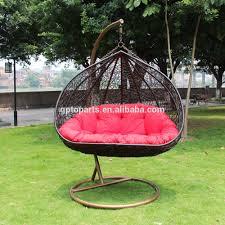 patio swings indoor outdoor furniture rattan swing chair garden rattan wicker basket for wedding