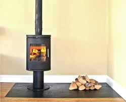 morso 6140 wood stove on a natural slate tiled hearth ed in leigh on sea es contemporary fireplacescontemporary