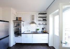 Apartment Small Kitchen Modular Small Kitchen Design Ideas With Brown Color And Wooden