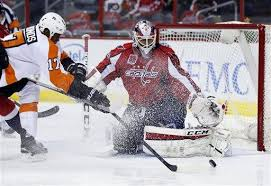 phliladelphia flyers hit vs capitals eddie haskell hit highlights capitals 1 0 win over flyers
