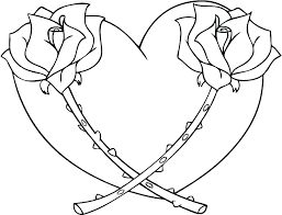 Coloring Pages Of Hearts Love Heart Colouring Pictures To Print For