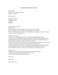 What To Write In A Letter Of Resignation Example writing a good ...