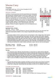 Resume Template Examples Teacher CV template, lessons, pupils, teaching job, school, coursework