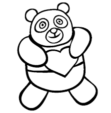 Small Picture Cute Panda Bear Coloring Pages Printable Coloring Pages inside
