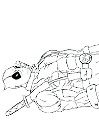 Baby Deadpool Coloring Pages Best Of Beautiful Free Printable
