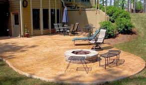 stained concrete patio before and after. Uniquely Stained Concrete Patio Before And After