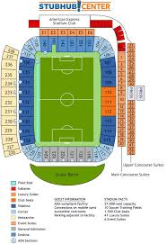 Dignity Health My Chart Dignity Health Sports Park Stadium Guide Seating Plan