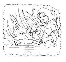 Moses Coloring Sheets
