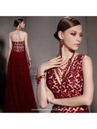 Burgundy red floral lace <b>modern qipao</b> short Chinese cheongsam ...