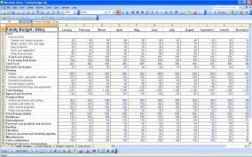 Spreadsheet For A Budget Free Budgeting Sheet Persona Epaperzone