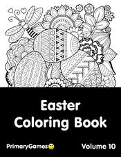 Decorate and egg decorate the eggs any way you want. Easter Coloring Pages Free Printable Pdf From Primarygames