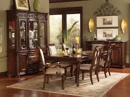 Formal Dining Room Sets With China Cabinet Dining Room Tables With Matching Hutch Oak Dining Table And 6