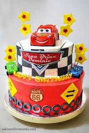 Cars Birthday Cake Cakes And Memories