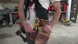 carpenter tool belt essentials. the best tool belt ever!/or not? occidental leather suspendavest vs conventional toolbelt - youtube carpenter essentials t