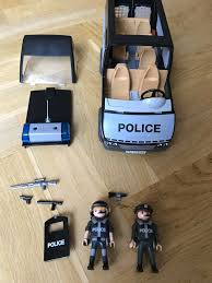 Playmobil City Action Police Van With Lights And Sound 6043 Playmobil Police Van 6043 With Working Lights And Sound Great Condition