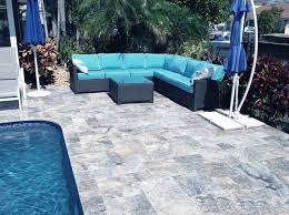 pool tiles and pavers in non slip silver travertine patio s65 patio