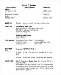 55 Engineering Resume Samples Pdf Doc Free Premium