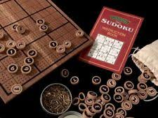 Wooden Sudoku Game Board Deluxe Wooden Sudoku Game With Puzzles and Instruction Booklet eBay 42