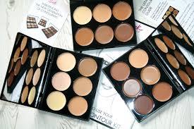 kit super mugeek vidalondon sleek makeup cream contour palettes