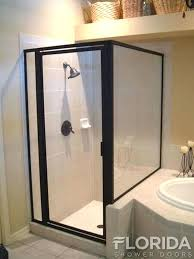 interior architecture entranching bronze shower door at doors showers the home depot from bronze shower
