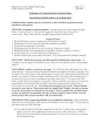 How To Format A College Paper College Term Paper Example Sample Pdf Format Ne Ceolpub
