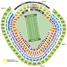 Yankee Stadium Seating Chart Football Games Yankee Stadium Tickets Bronx Ny Ticketsmarter