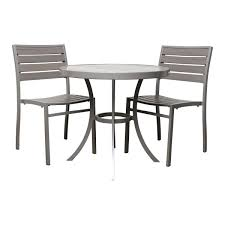 Winsome Outdoor Table And Chair Set Home Design Tesco Patio Sets