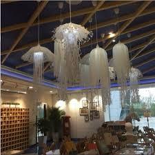 ceiling lights swag lamp jellyfish desk lamp blown glass jellyfish chandelier hallway pendant light