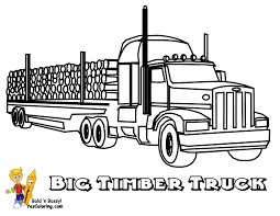 Free coloring pages to download and print. Stone Cold Coloring Trucks Trucks Free 18 Wheelers Long Hauls