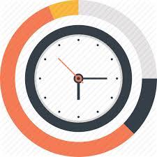 Time Clock Chart Business And Finance By Maxim Basinski