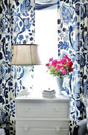 Navy Blue Patterned Curtains Adorable White Patterned Curtains Navy Blue And Whi Patrned Startuphoundco