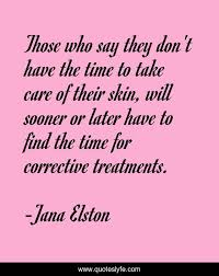 Best Skincare Quotes with images to share and download for free at  QuotesLyfe