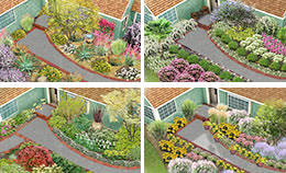 Small Picture Landscaping Ideas Front Foundation Garden